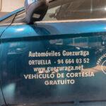 Automóviles Guezuraga - Ortuella - Vehículo Cortesía