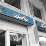 La Bella Piazza - Ortuella - Letrero